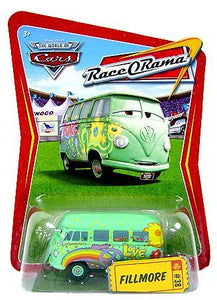 Disney Pixar World of Cars - Race O Rama Pit Crew Member Fillmore Vehicle