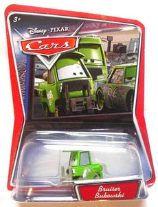 Disney Pixar Cars - Bruiser Bukowski Vehicle