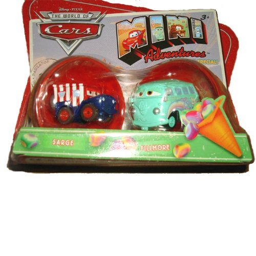 Disney Pixar World of Cars Mini Adventures - Holiday Special Sarge & Fillmore