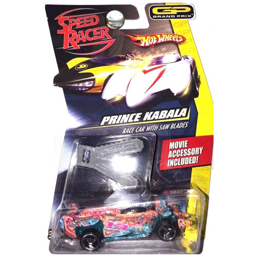 Hot Wheels Speed Racer - Prince Kabala Race Car with Saw Blades