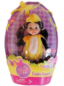 "Barbie Kelly Easter Sweetie - Kayla 4.5"" Doll in Chick Costume"