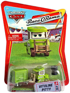 Disney Pixar World of Cars - Race O Rama Vitoline Pitty Vehicle