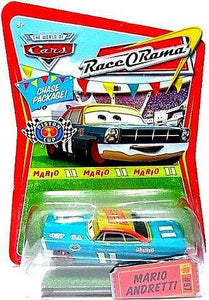 Disney Pixar World of Cars - Race O Rama Mario Andretti Vehicle