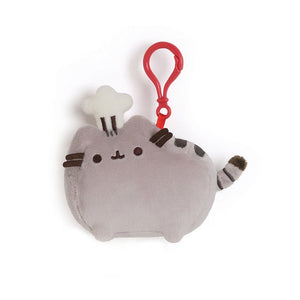 Pusheen Chef Hat Backpack Clip Stuffed Animal