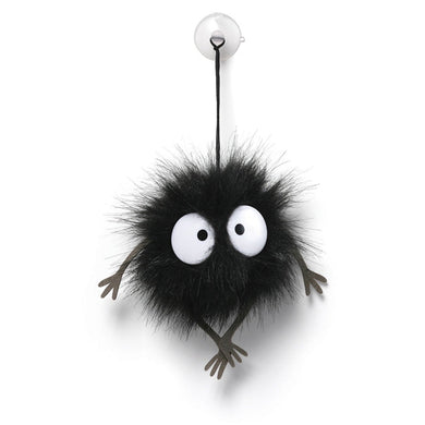 Spirited Away Stuffed Soot Sprite Window Cling 1.5