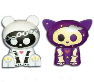 "Skelanimals - Kit the Cat & ChungKee the Panda 2.5"" Figure 2-Pack"