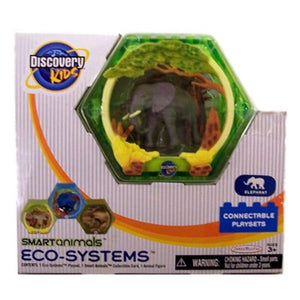 "Discovery Kids 2"" Smart Animals Eco Systems - Elephant Connectable Playset"