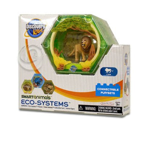 "Discovery Kids 2"" Smart Animals Eco Systems - Lion Connectable Playset"