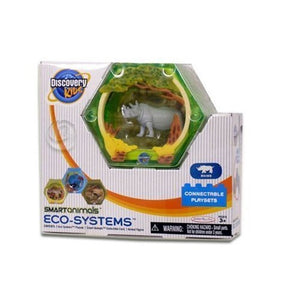 "Discovery Kids 2"" Smart Animals Eco Systems - Rhino Connectable Playset"