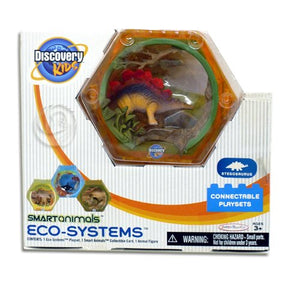 "Discovery Kids 2"" Smart Animals Eco Systems - Stegosaurus Connectable Playset"