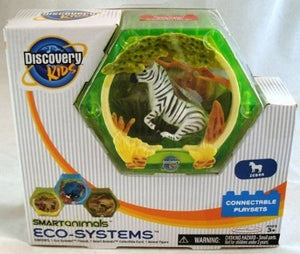 "Discovery Kids 2"" Smart Animals Eco Systems - Zebra Connectable Playset"