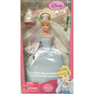 "Disney - Cinderella's Wedding Fantasy 12"" Doll"