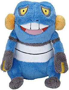 "Pokemon - Croagunk Mini 5"" Plush"