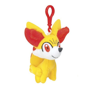 "Pokemon XY Clip-On - Fennekin 4"" Keychain Plush"