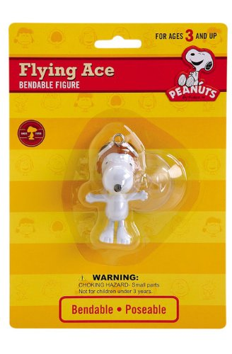 Peanuts - Flying Ace Snoopy Bendable 2