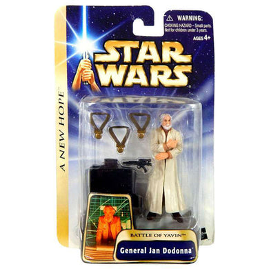 Star Wars A New Hope - Battle of Yavin General Jan Dodonna 3.75