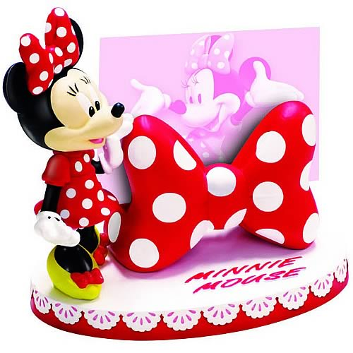 Disney Minnie Mouse - Desktop Card Holder Statue