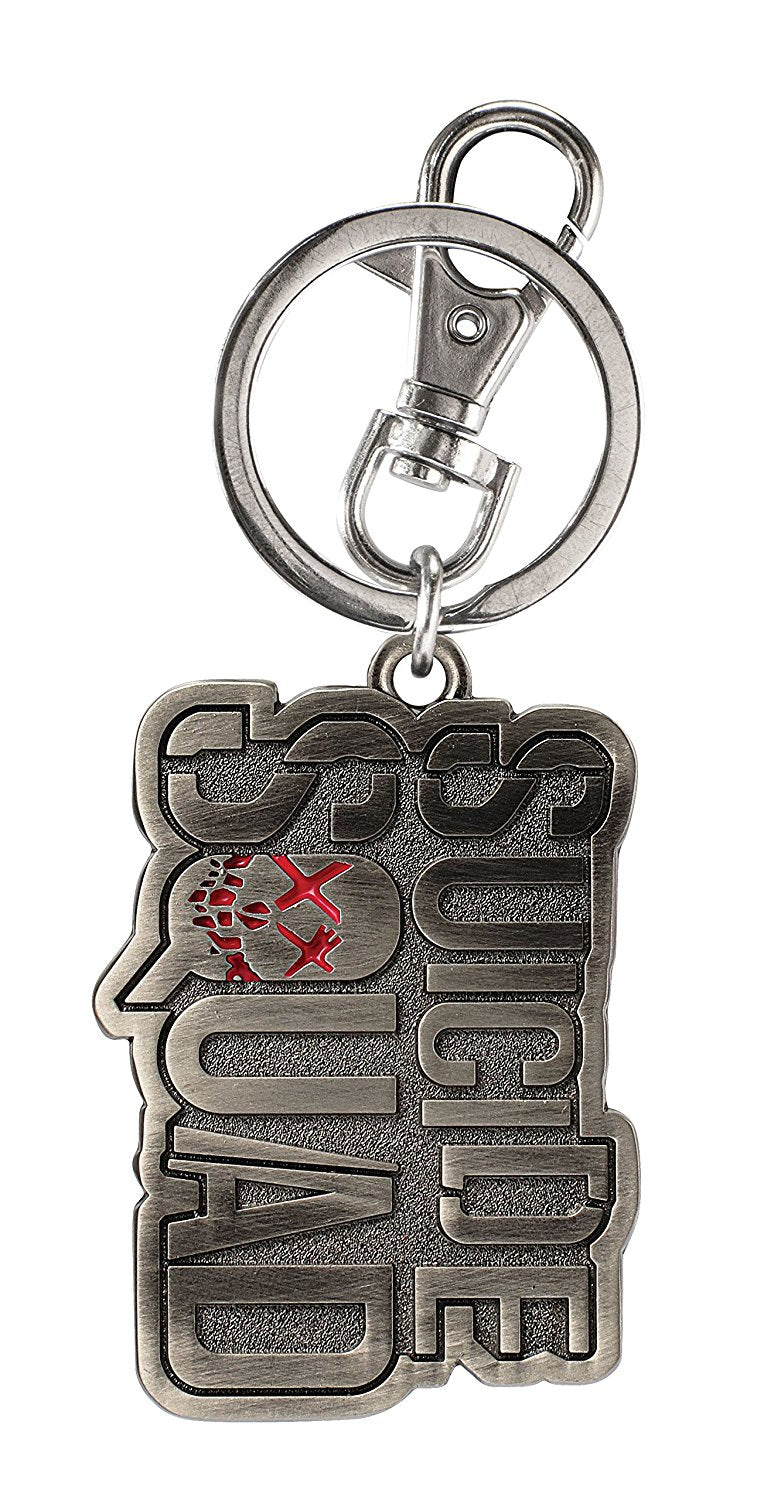 DC Comics Suicide Squad Logo Pewter Key Ring