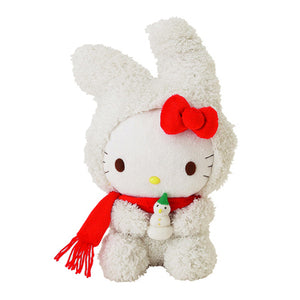 "Hello Kitty - Snow Rabbit 10"" Plush"