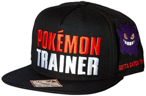 Pokemon Trainer Color Omni Snapback Baseball Cap