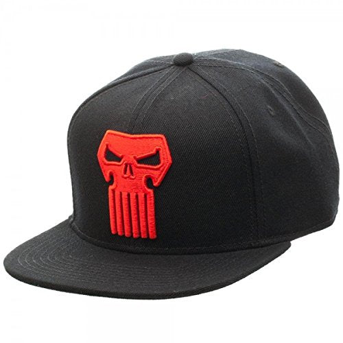 Marvel Punisher Thunderbolt Logo Snapback Cap Hat