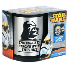 Star Wars Darth Vader 12 oz Stainless Steel Self Stirring Travel Mug