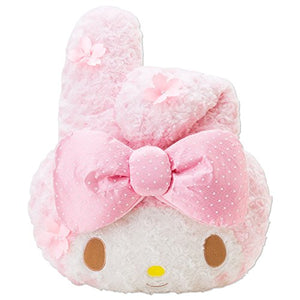 "My Melody Die Face-Shape 17"" Cushion"