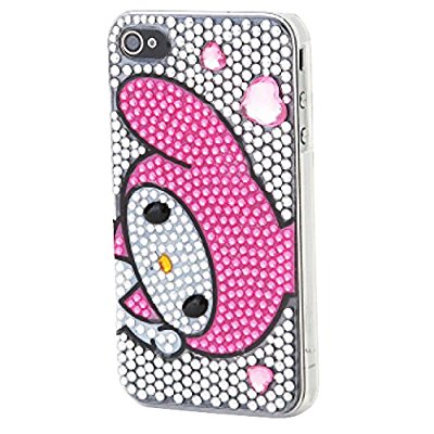 My Melody IPhone 4S Case with Sparkling Rhinestones