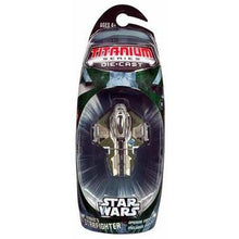 "Titanium Series Star Wars - 3"" Anakin's Starfighter Vehicle"