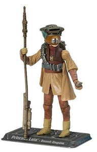 "Star Wars Saga Collection - Princess Leia  3.75"" Action Figure in Boushh Disguise"