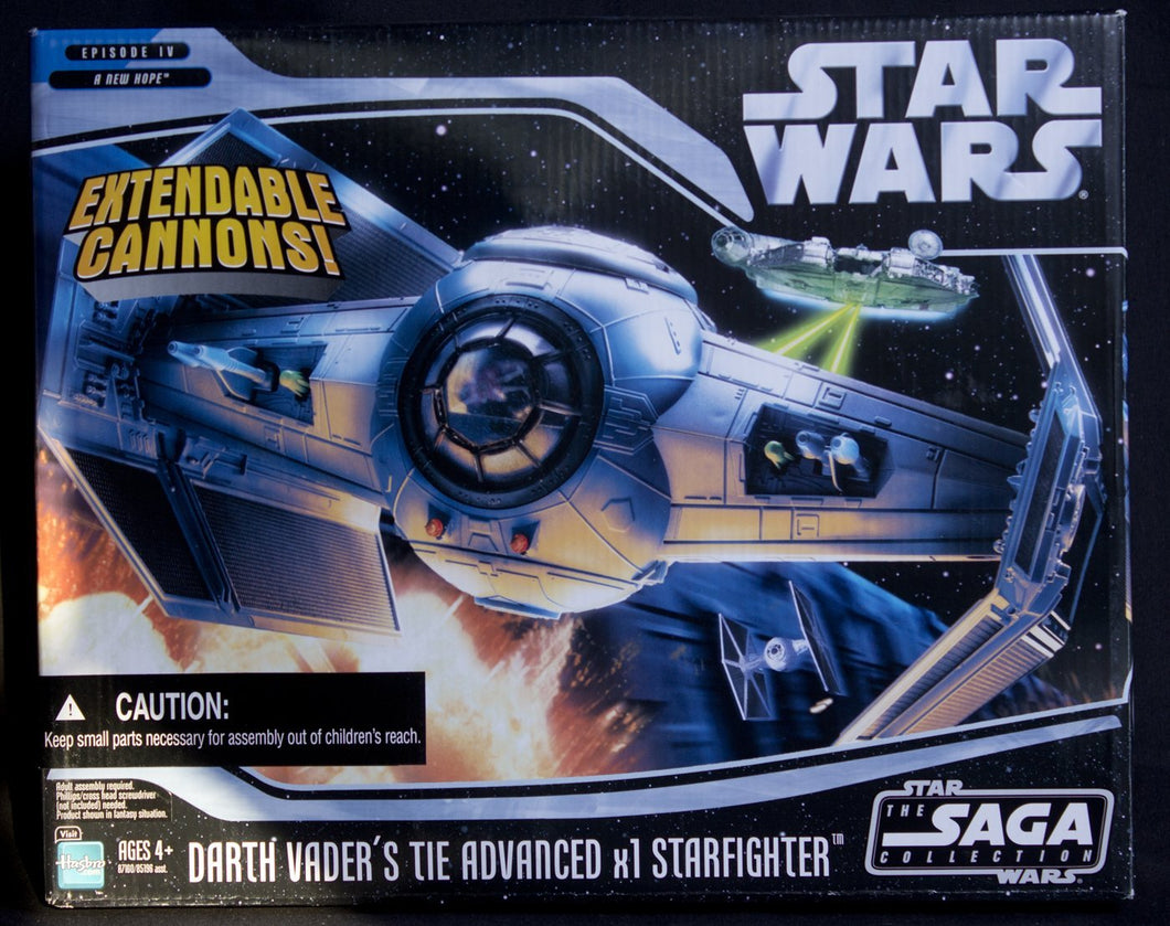 Star Wars Saga Collection - Darth Vader's TIE Advanced x1 Starfighter for 3.75