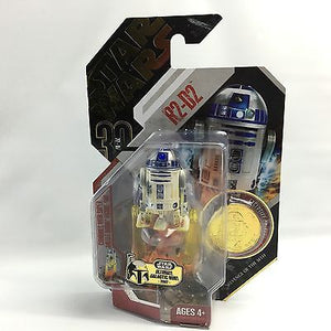 "Star Wars 30th Anniversary - R2-D2 2.5"" Action Figure & Gold Collector Coin"