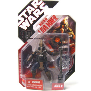 "Star Wars 30th Anniversary - Mustafar Lava Miner 3.75"" Action Figure & Collector Coin"