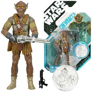 "Star Wars 30th Anniversary Ralph McQuarrie Signature Series Concept - Chewbacca 3.75"" Action Figure & Collector Coin"