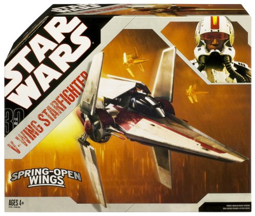 Star Wars 30th Anniversary - Revenge of the Sith V-Wing Starfighter for 3.75