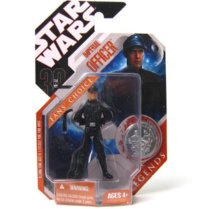 "Star Wars 30th Anniversary - Imperial Officer 3.75"" Action Figure & Collector Coin"