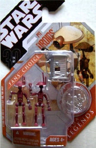 "Star Wars 30th Anniversary - Pit Droids 3.75"" Red Action Figure Set"