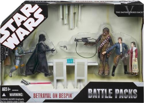 Star Wars 30th Anniversary Battle Packs - Betrayal On Bespin 3.75
