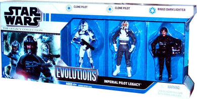 Star Wars Legacy Collection - Evolutions Imperial Pilot 3.75