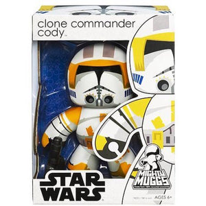 "Mighty Muggs Star Wars - Exclusive Clone Commander Cody 6"" Figure"