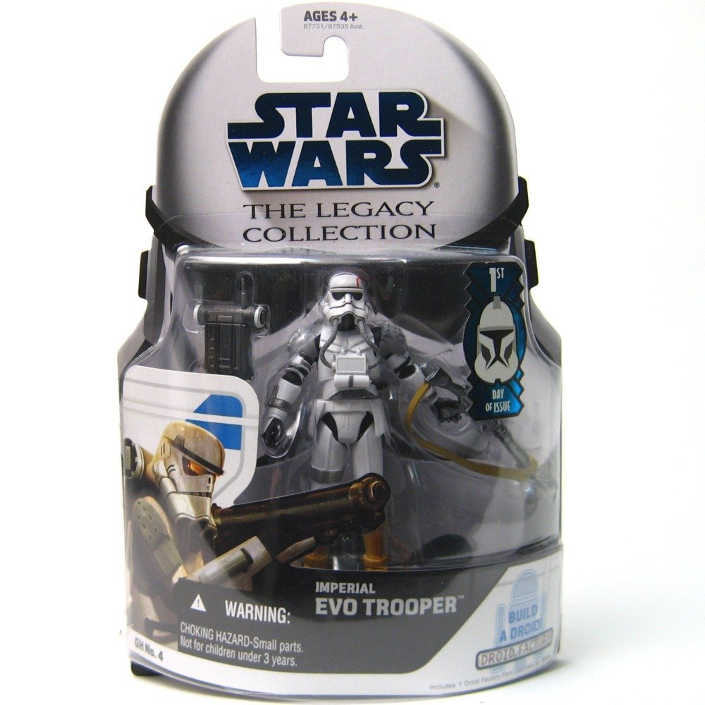 Star Wars Legacy Collection Build-A-Droid GH04 - Imperial EVO Trooper 3.75