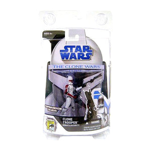 "Star Wars Clone Wars SDCC Exclusive - Clone Trooper Senate Security 3.75"" Action Figure"