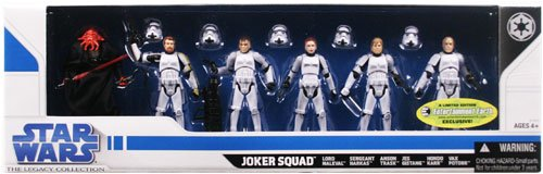 Star Wars Legacy Collection - Exclusive Joker Squad 3.75