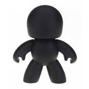 "Mighty Muggs Blank Black - Create Your Own 6"" Figure"