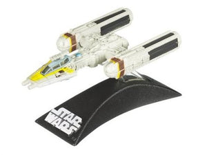 "Titanium Series Star Wars - 3"" Davish Krail's Gold 5 Y-Wing"