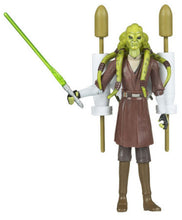 "Star Wars Clone Wars 2008 CW27 - Kit Fisto 3.75"" Action Figure"
