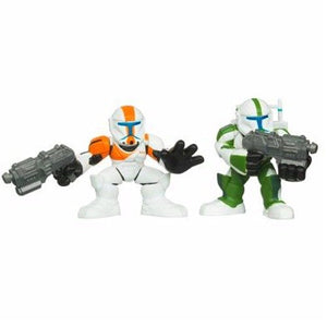 "Star Wars Galactic Heroes - Republic Commandos Fixer & Boss 2"" Action Figure 2-Pack"