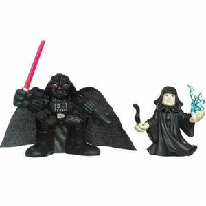 "Star Wars Galactic Heroes - Emperor & Darth Vader 2"" Action Figure 2-Pack"