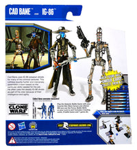 "Star Wars Clone Wars - Cad Bane & IG86 3.75"" Action Figure Target Exclusive 2-Pack"