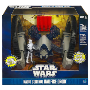 Star Wars Clone Wars - Hailfire Droid RC Vehicle